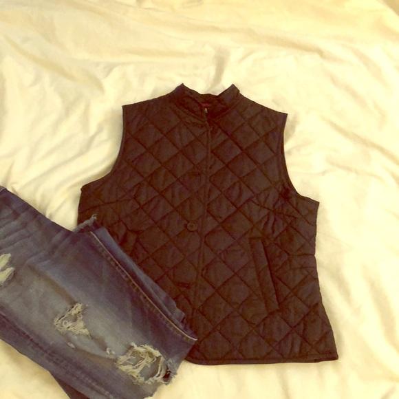 GAP Jackets & Blazers - Gap nylon quilted vest. Size large